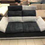 Manila 2 személyes kanapé áthelyezhető fejtámlákkal