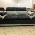 Manila két személyes kanapé extra kényelmes, magas háttámlával