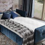 Jessi sarokkanapé ágynak nyitható, ágyneműtartós kivitelben