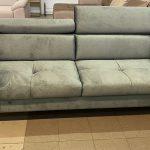 Pescara 3 személyes kanapé állítható fejtámlákkal, süppedős ülőfelülettel