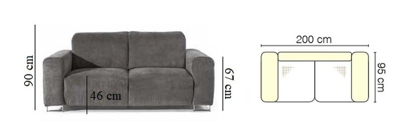 Lotta kanapé méret